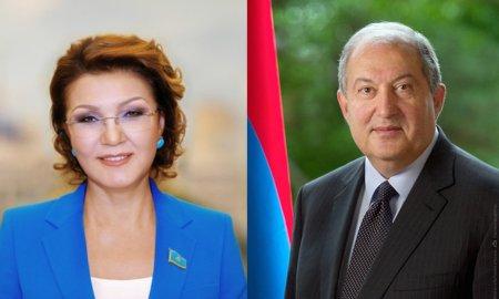 Նախագահ Սարգսյանը շնորհավորել է Դարիղա Նազարբաևային