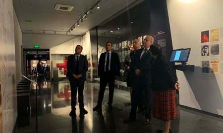 ՌԴ դեսպան Կոպիրկինն այցելել է Հայոց ցեղասպանության հուշահամալիր