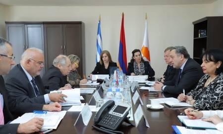 Խորհրդակցություն՝ Հայաստան-Հունաստան-Կիպրոս եռակողմ ձևաչափով