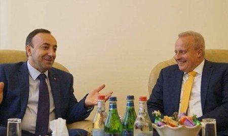 ՌԴ դեսպանը հանդիպել է Հրայր Թովմասյանի հետ