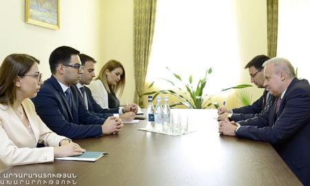 ՌԴ-ն հարգանքով է վերաբերվում Հայաստանում տեղի ունեցող իրադարձություններին․ Կոպիրկինը՝ Բադասյանին