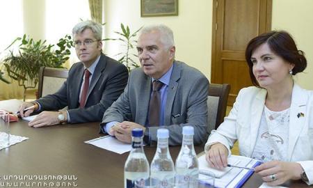 Արդարադատության նախարարը ԵՄ դեսպանի հետ քննարկել է դատաիրավական ոլորտի բարեփոխումները