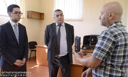 Ռուստամ Բադասյանը ծանոթացել է «Փորձագիտական կենտրոն» ՊՈԱԿ-ի աշխատանքներին