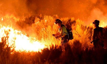 Աթենիքի մերձակայքում ուժեղ անտառային հրդեհ է բռնկվել