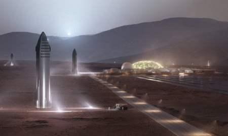 Մասկը ցուցադրել է դեպի Լուսին ու Մարս թռիչքներ իրականացնող նոր տիեզերանավը