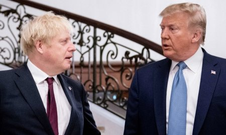 Թրամփն ու Ջոնսոնը կպայմանավորվեն առևտրային համաձայնագրի կնքման շուրջ