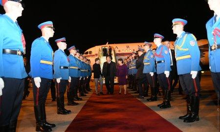 Արմեն Սարգսյանը պաշտոնական այցով Սերբիայում է