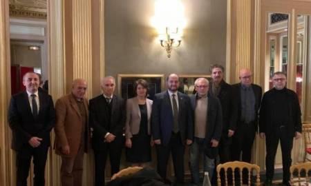 Արայիկ Հարությունյանը հանդիպել է Ֆրանսիայի մշակութային գործիչների հետ