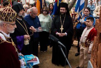 Հունաստանի Կալամատա քաղաքում Հայոց ցեղասպանության զոհերի հուշարձան է բացվել