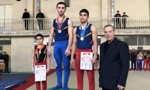 Ավարտվեց Հայաստանի սպորտային մարմնամարզության առաջնությունը