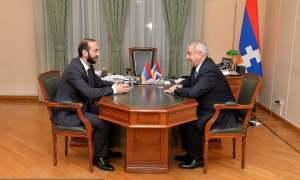 ՀՀ և Արցախի ԱԺ նախագահները հանդիպում են ունեցել