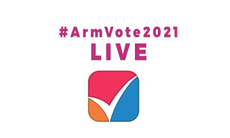 armvote2021 live