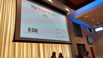 Presenting at Arizona Society of Association Executives, Sept. 23, 2016, Gilbert, Ariz.