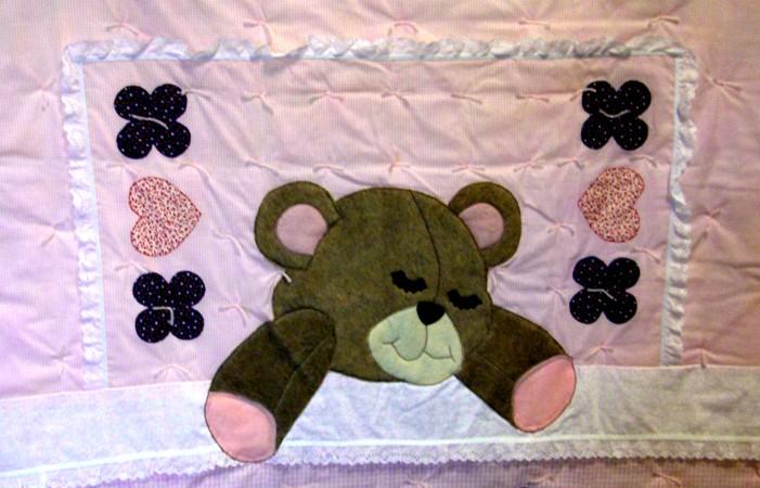 fuzzy bear quilt