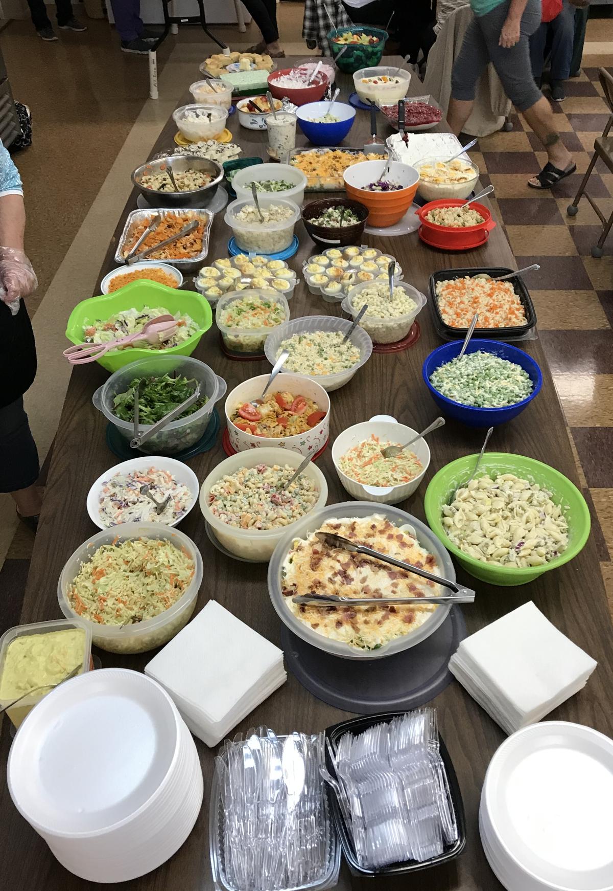 potluck salad lunch