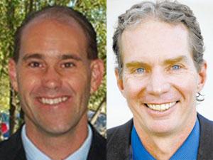 Tucson Republican Rep. Ethan Orr (left) and Phoenix Democratic Rep. Eric Meyer (File photos)