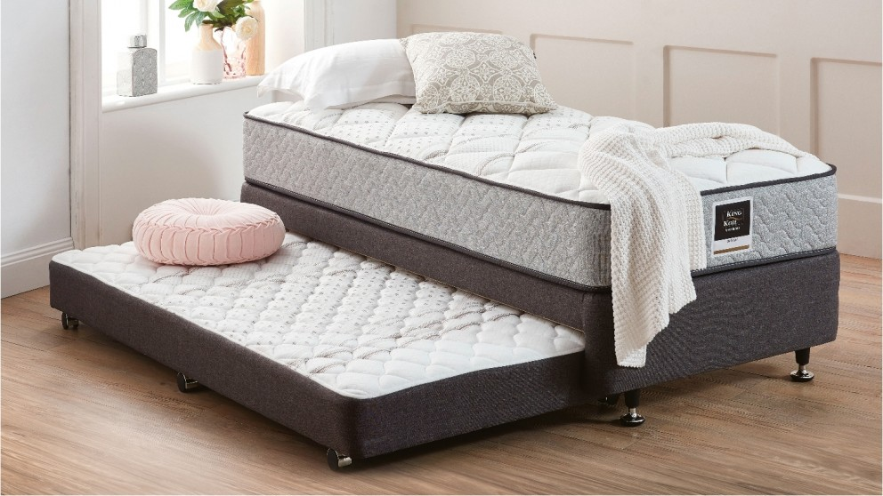 buy king koil barclay single mattress with rollaway single base and trundle harvey norman au