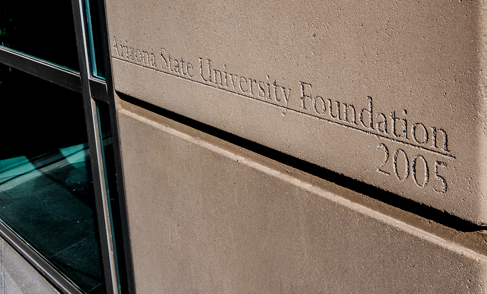 The Arizona State University Foundation has offices in the same ASU building that houses the university's executive offices, including that of university president Michael Crow. (Photo by Charles T. Clark/AZCIR)