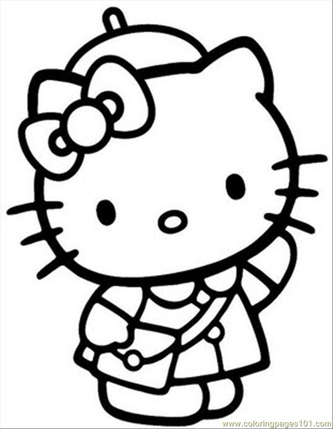 Hello Kitty Ballerina Coloring Pages - Coloring Pages | Hello ... | 836x650