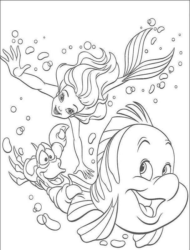 new disney princess ariel coloring pages disney coloring pages