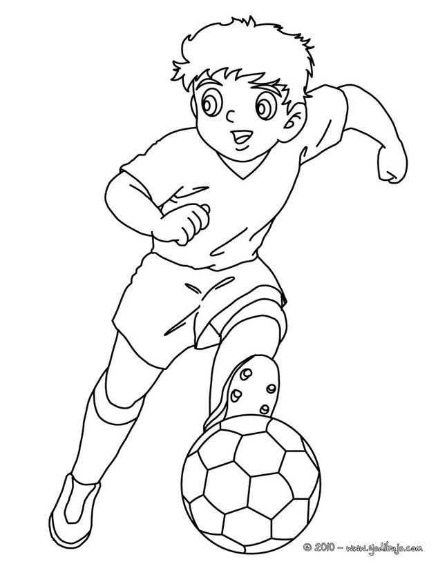 doki futbolista colouring pages