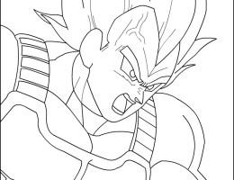 Imagenes De Dragon Ball Z Vegeta Para Dibujar On Log Wall