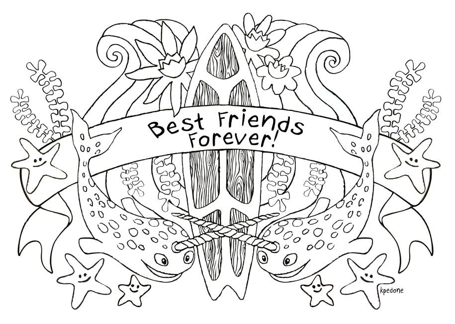 Pon And Zi Coloring Pages - Free Printable Colouring Pages for ... | 652x915
