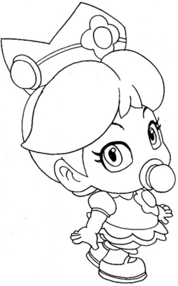 coloring pages to print of rosalina from mario az coloring pages