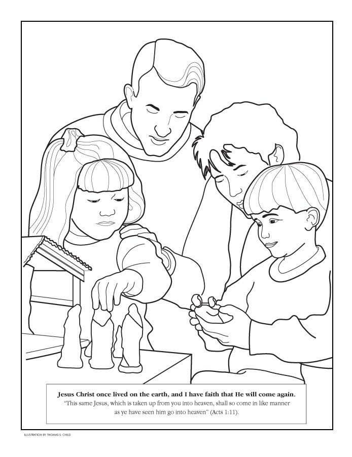 my family coloring pages az coloring pages