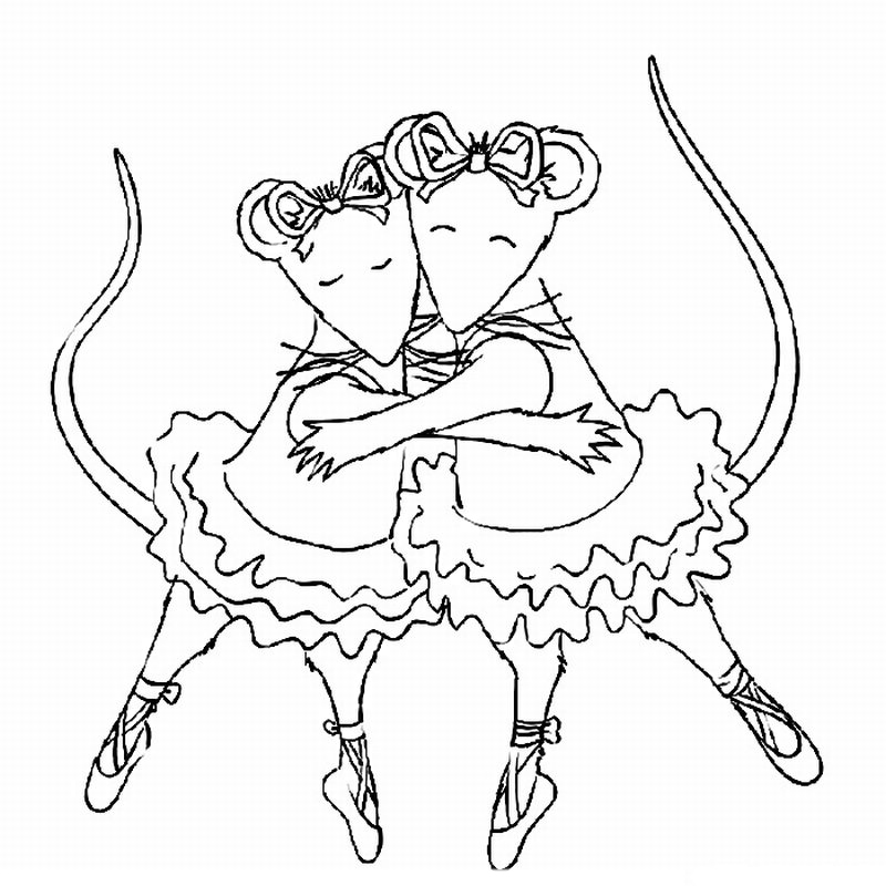 kids coloring pages for free ballet pictures for kids coloring pages