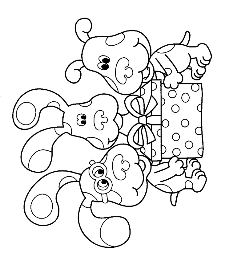 nickjr s blues clues coloring book printables