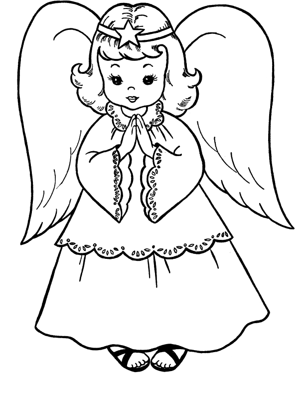 angel in christmas eve coloring pages christmas coloring pages