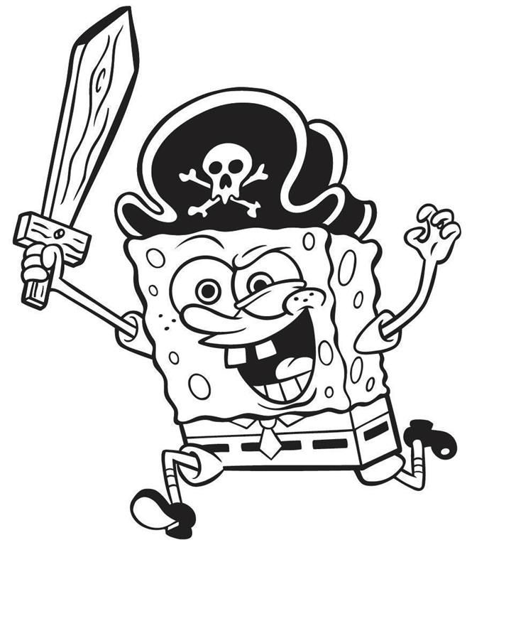 nickelodeon spongebob coloring pages az coloring pages