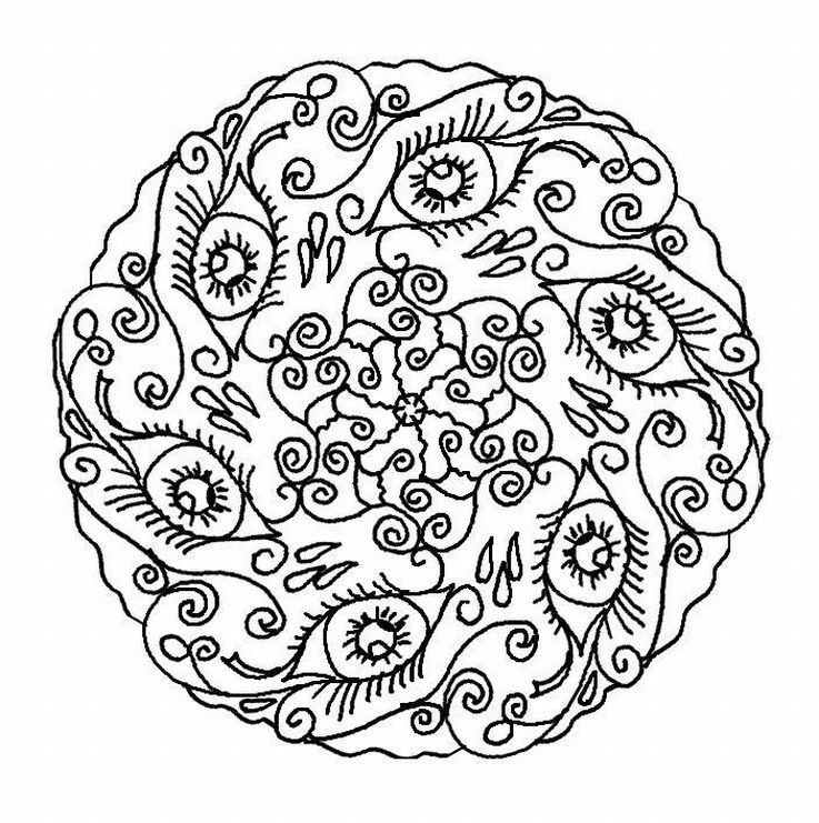 hard printable coloring pages for adults az coloring pages