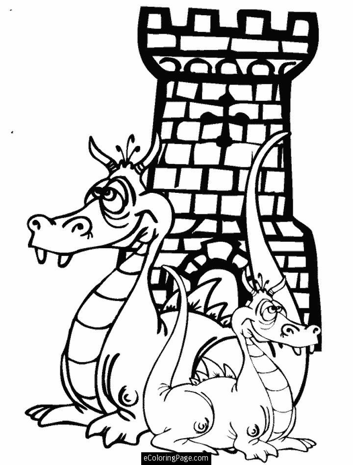 pictures of castles to color az coloring pages