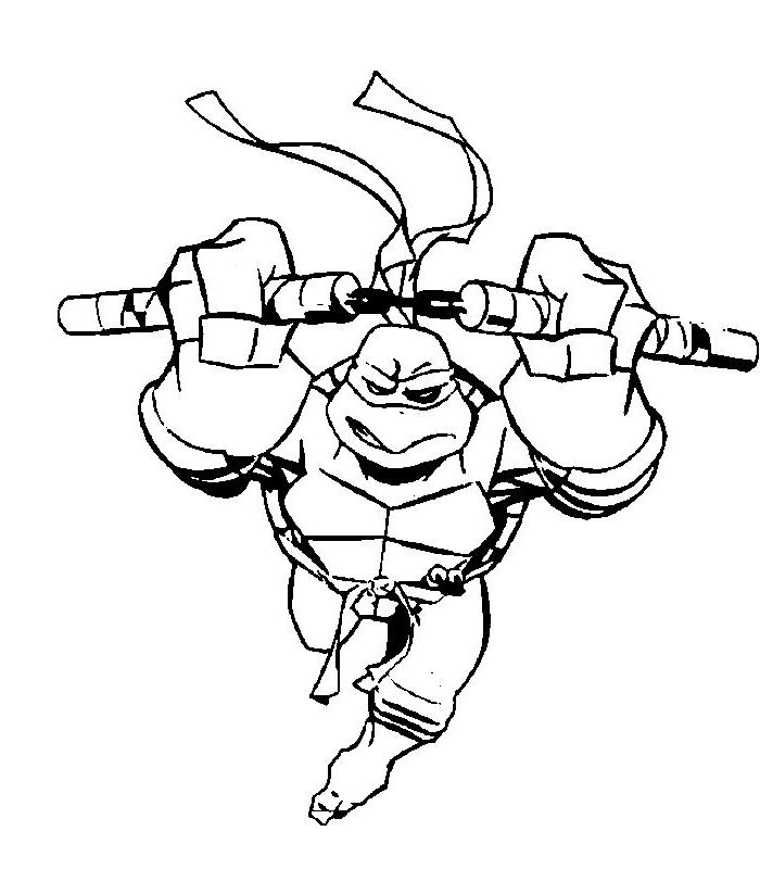 ninja turtle coloring pages az coloring pages