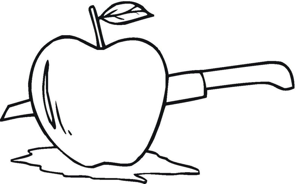 free apple coloring pages printable laptopezine