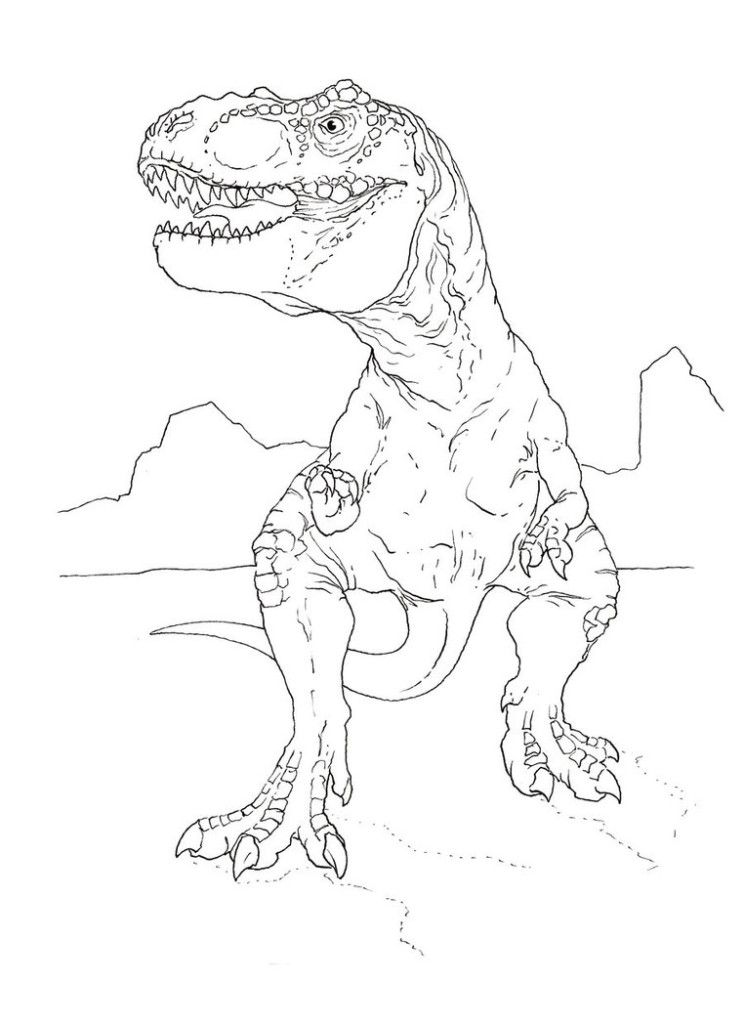 dinosaur t rex coloring pages az coloring pages