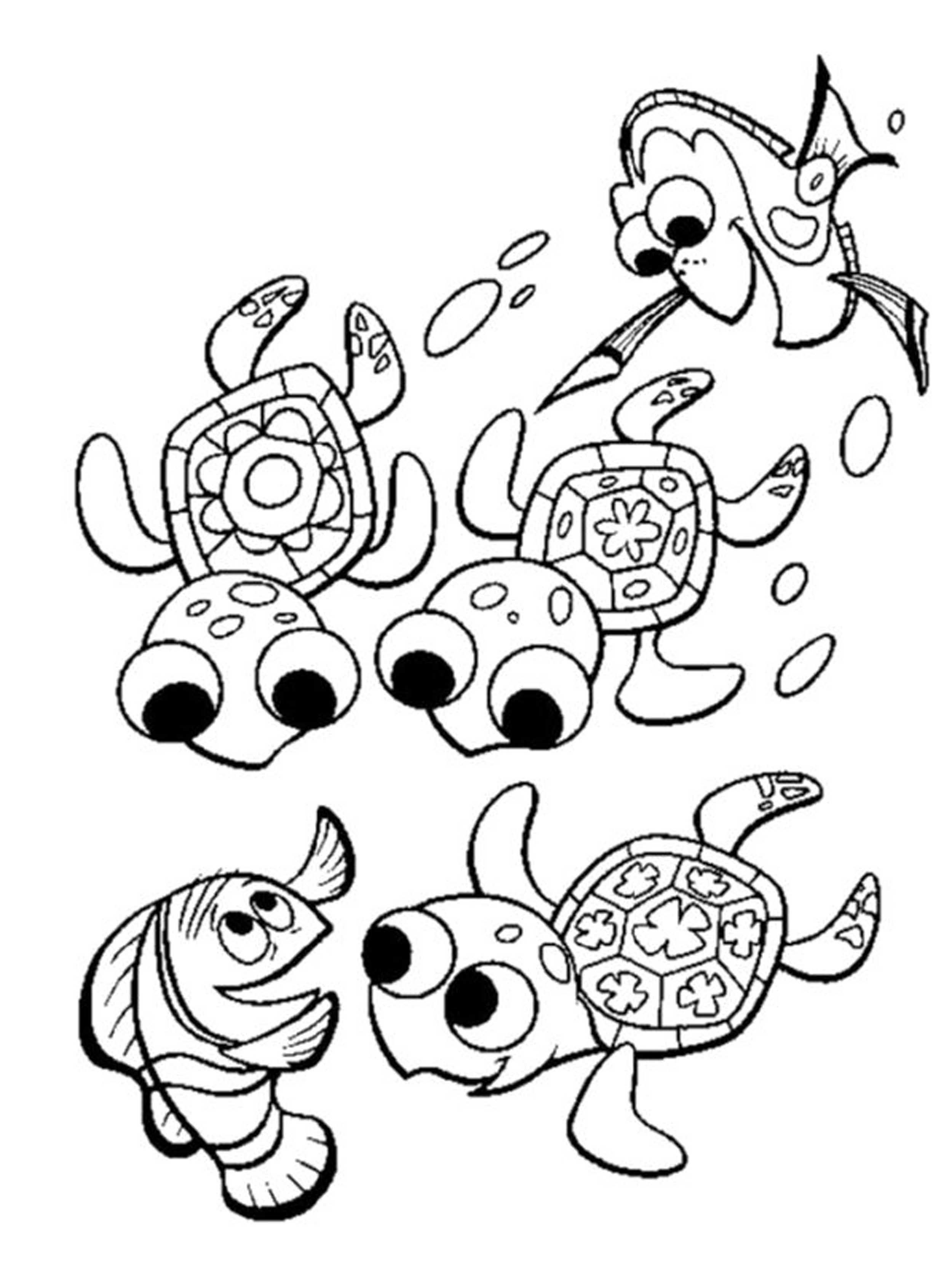 baby sea turtles coloring pages az coloring pages