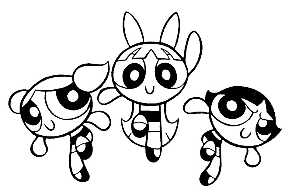 powerpuff girls pages free pages for kids
