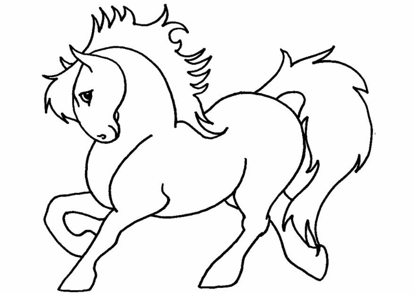 pony coloring page az coloring pages