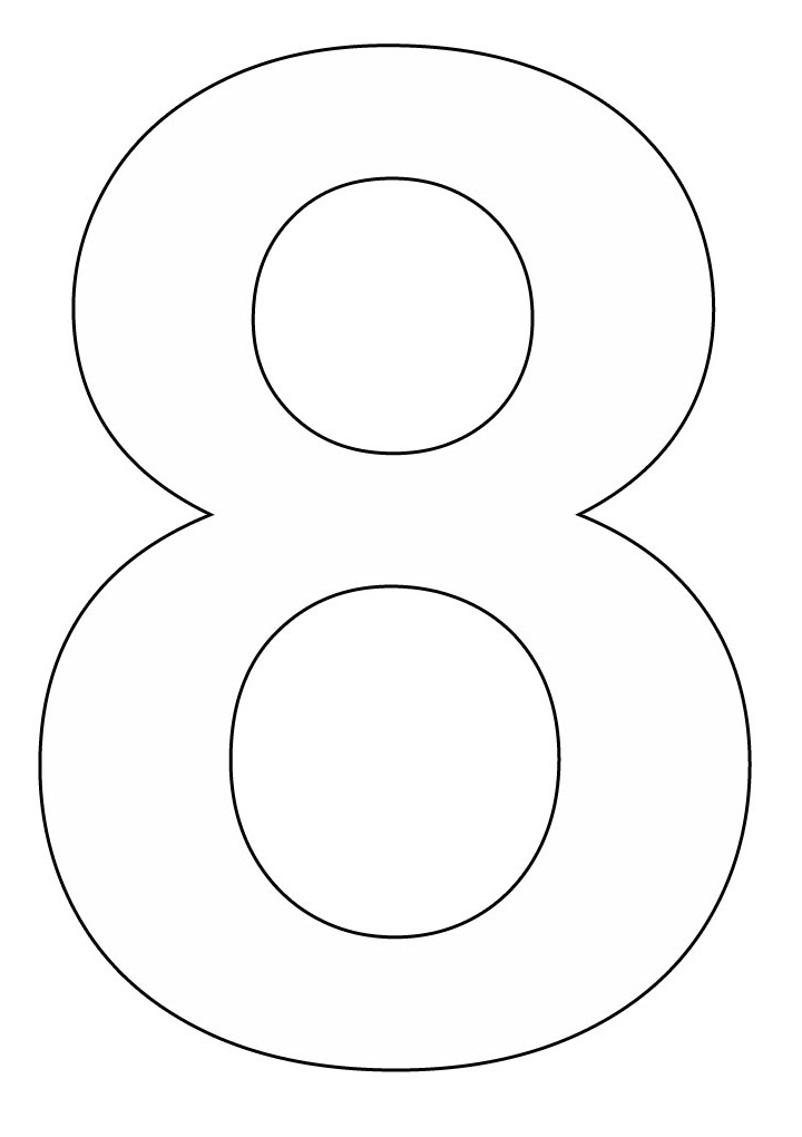 numbers coloring page az coloring pages