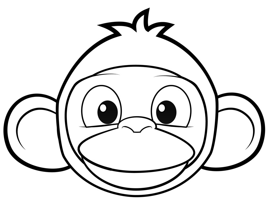cartoon monkey coloring pages az coloring pages