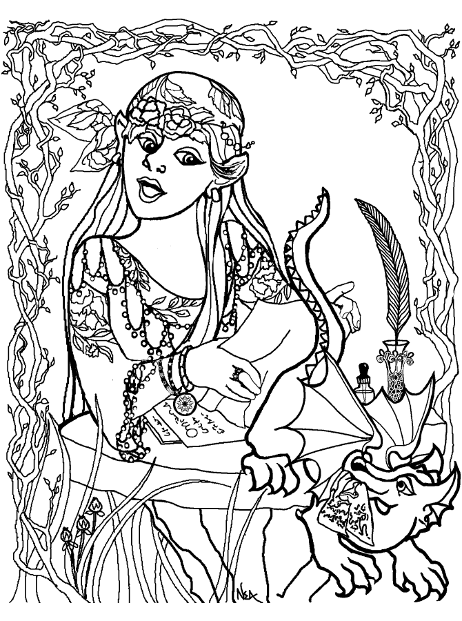 Mosaic Coloring Pages Printable AZ Coloring Pages