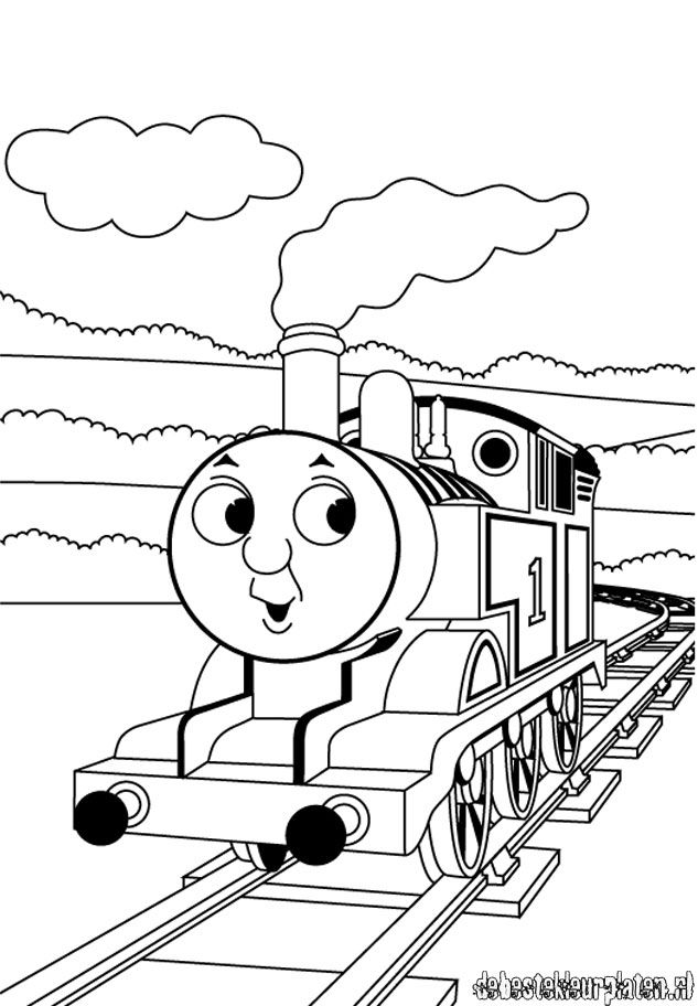 Thomas And Friends Coloring Pages Gordon Free Printable Thomas The
