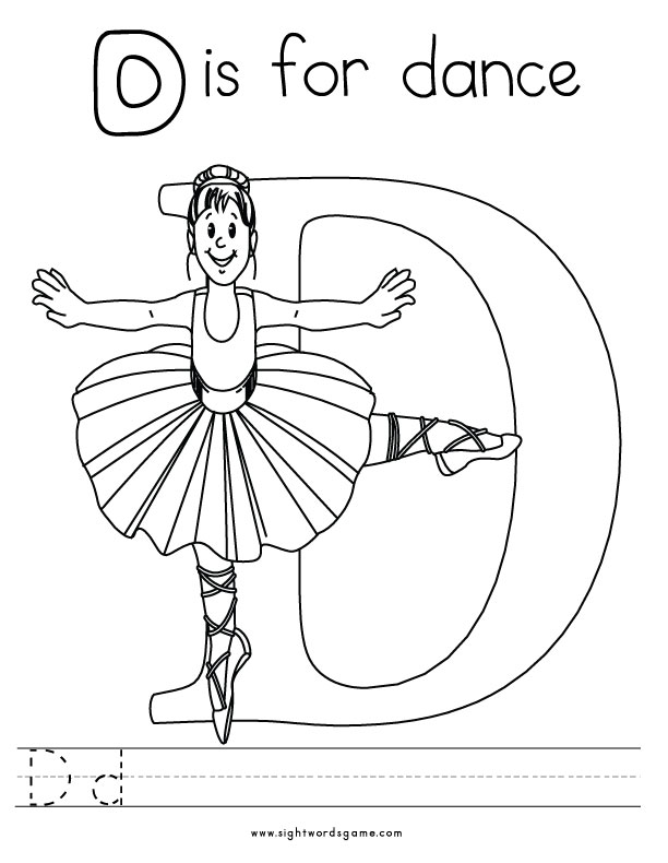 these the letter d coloring pages for free the letter d coloring