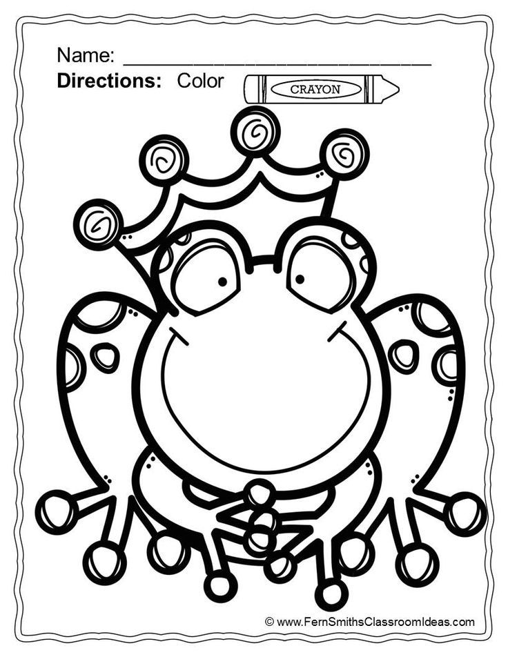 frog prince coloring pages az coloring pages