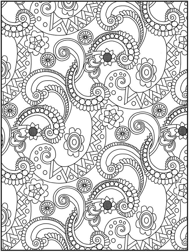 intricate design coloring pages az coloring pages