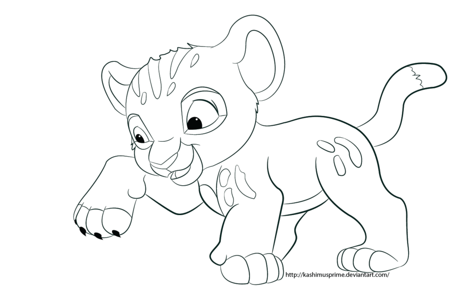 baby simba coloring pages az coloring pages