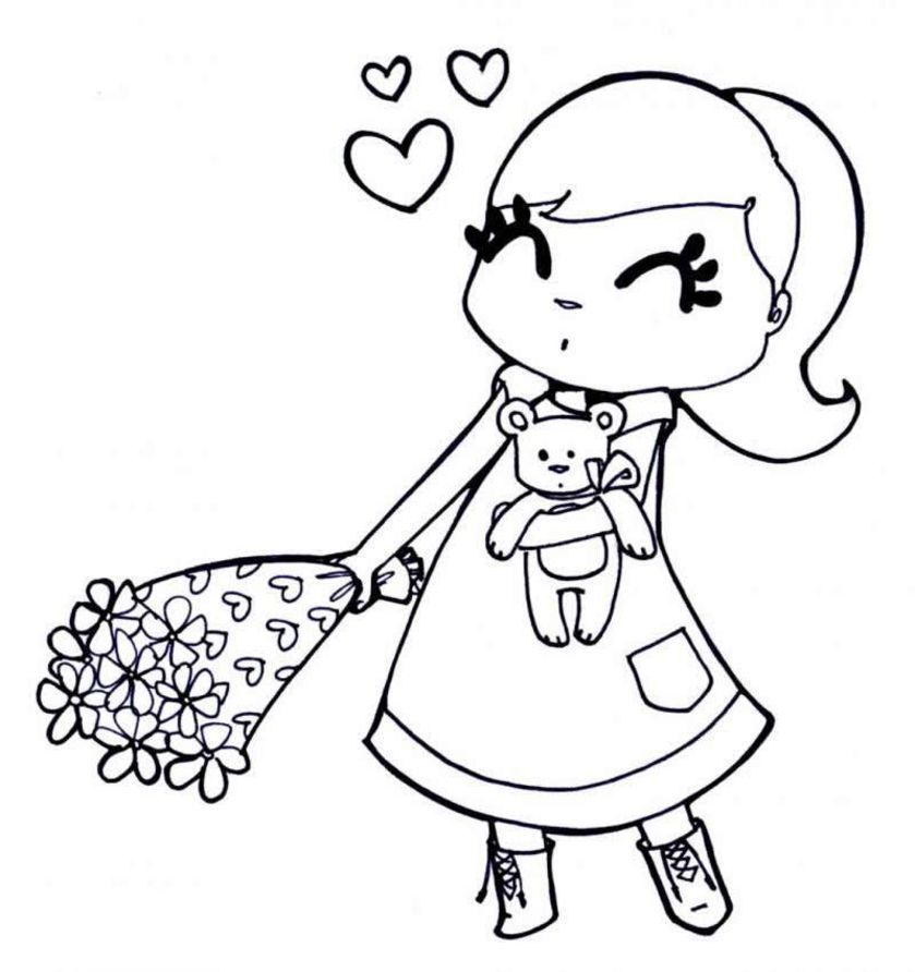 girls coloring books az coloring pages